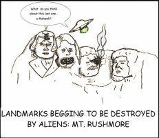 Mt. Rushmore by augustusceaser
