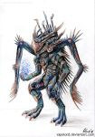 Cyborg Creature by Vapolord