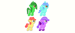 Adoptables by TargetGirl