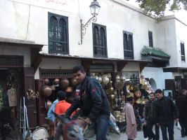 People and Life in Fes 3 by Magdyas