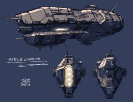 Battle Carrier by myname1z4xs