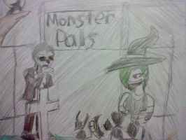 monster pals by vaultboy28