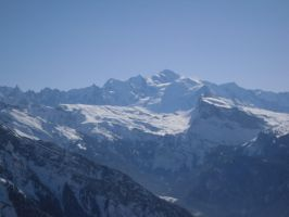 Mont Blanc - France by dcsnijders