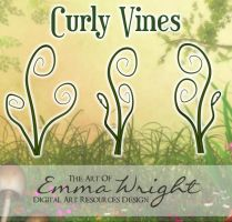Curly Vines by zememz