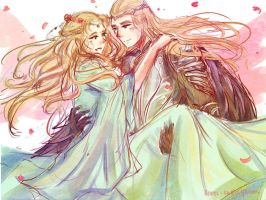 King x Queen by silm-arilli