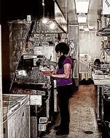 Grunge Kitchen by pubculture