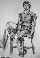 Life Drawing by coppergecko