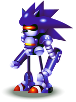 Mecha Sonic by Doctor-G