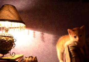 Wash and the Lamp 2 by coffeenoir