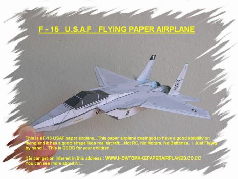 How to make paper airplane?... by aeroorigami