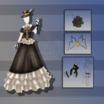 Steampunk Outfit #1 (CLOSED) by 96-Adopts