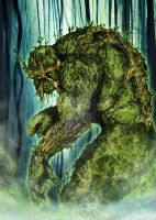 Swamp Thing by SaintYak