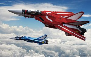 MACROSS: Red and Blue by 3D-Brainx