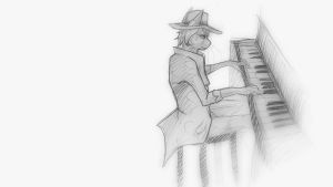 Piano by IamSKETCHcat