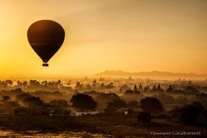 A Flight Over Pagoda Field #1 by fotomachine