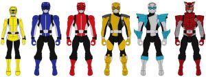 Action Heroes Wave 2: Tokumei Sentai Go-Busters by Axusho