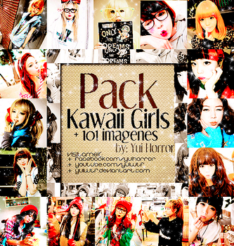 Pack Kawaii Girls by YuiWTF