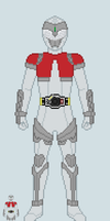 Toku sprite - Rolento (Base suit) by Malunis