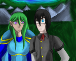 SR:MT: Silvea and Erideus by AxisofDestruction