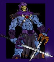 Skeletor- My Pshop first by JazylH