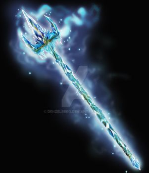ice trident by denzelberg