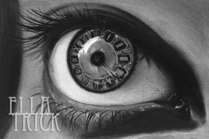 eye clock by mange