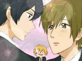 MakoHaru by maybebaby83
