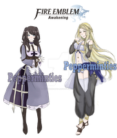 Fire Emblem Awakening Ocs by Pepperminties
