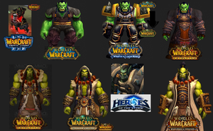 Over the Years  Go'el Earthheart (Thrall) by ValAndy7
