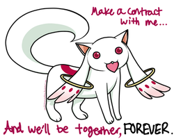 Kyubey: Make a Contract by motli