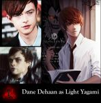 Deathnote Fancast:Dane Dehaan as Light Yagami by Omnipotrent