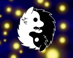Ying Yang Wolves by EmmaKitkat