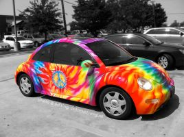 Tie-Dye Beetle by cs4artist