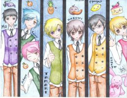 Ouran Host Club Panels by VaMpIrEkNiGhT05683