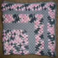 Pink/Gray baby blanket 2 by mell0437