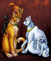 The Aristocats by Zakeno