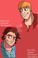 Wally and Bart by Chickenmonkey707