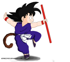 Goku Of My Childhood by Bonez1925