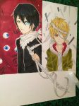 +Yato and Yukine+ by Menelique