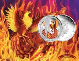 Phoenix Coin by T-Tiger