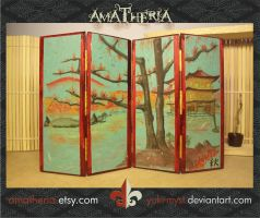 Japanese screen, aki - autumn by Yuki-Myst