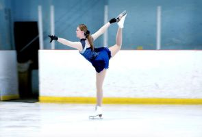 Figure Skating: Catch-Foot Spiral by MonicaHolsinger