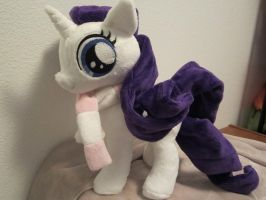 my little pony Filly rarity Plush by Little-Broy-Peep