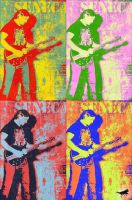 Bren From Seneca Warhol Style by SCT-GRAPHICS