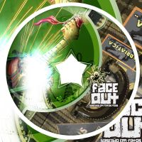 Face-Out CD Label .v2 by luh-yart