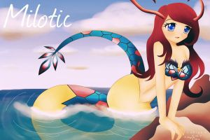 Milotic by m0niQuee