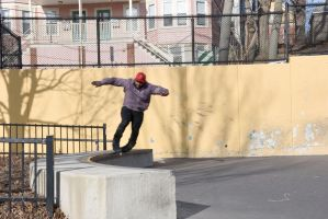 Roller Blading the Wall 10 by Miss-Tbones