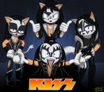 """KISS """"Sonic"""" style by Toughset"""