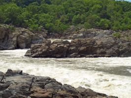Great Falls of the Potomac 43 by Dracoart-Stock