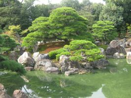 Golden Temple Gardens, Kyoto, Japan by Izzy-Nightshade